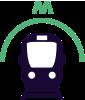 U-Bahn zum Strand von Scheveningen