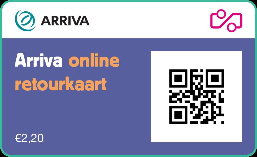 Online retourkaart Arriva